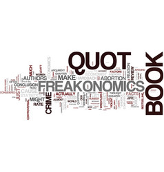 Freakonomics a book review text background word vector