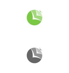 no boundaries logo vector image