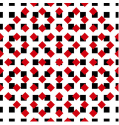 Ornament-pattern-red-black vector