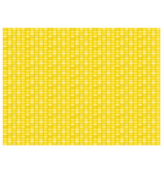 Seamless corn pattern and texture in flat vector
