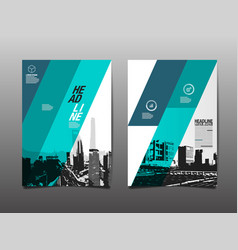 Template design layoutbrochure design vector