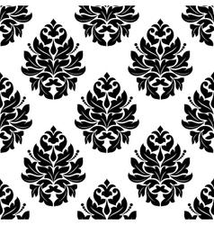 Vintage seamless arabesque pattern vector