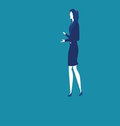 Women communication vector image