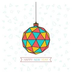 Happy Ball vector image