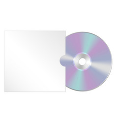 cd dvd isolated icon compact disc vector image