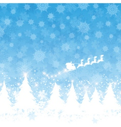 christmas santa background 1111 vector image