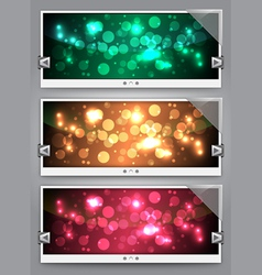 web sliders vector image vector image