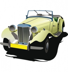 rarity car vector image