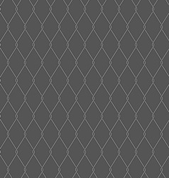 Wire fence on gray background vector image