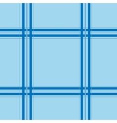 Blue tartan seamless pattern vector image