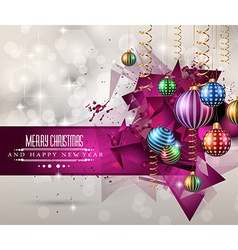 Christmas original modern background template for vector