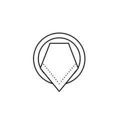 dish napkin table etiquette icon can be used for vector image