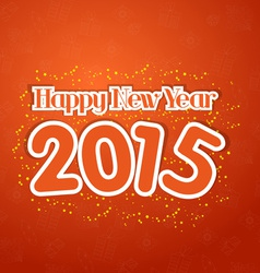 Happy New Year 2015 Greetings vector