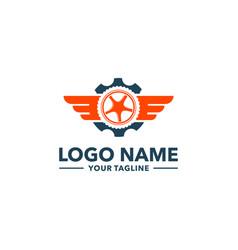 Tire logo vector