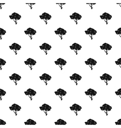 Apple tree pattern simple style vector