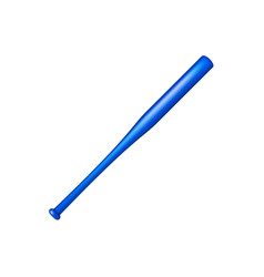 baseball bat in blue design vector image