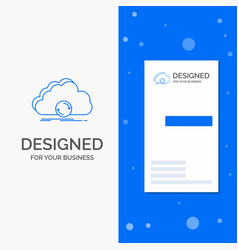 Business logo for cloud syncing sync data vector