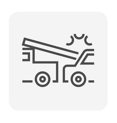car accident icon vector image