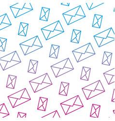 Degraded line e-mail communication message vector