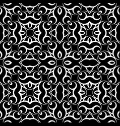 Design seamless monochrome waving geometric vector