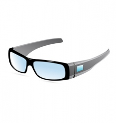 eye wear vector image