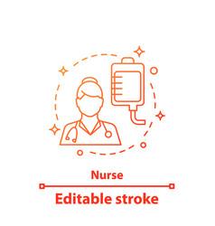 Nurse concept icon vector