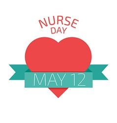 Nurse Day vector image