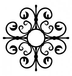 Realistic illustration of shod ornate vector