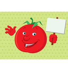 Smiling Tomato vector image
