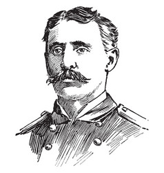 charles vernon gridley vintage vector image