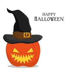 Happy halloween design vector image