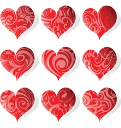 heart tattoo icon vector image