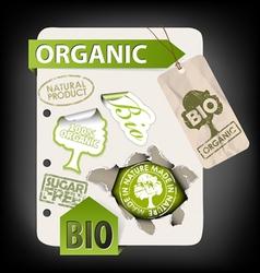 organic elements vector image vector image