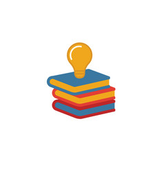 Knowledge base icon simple flat element from vector
