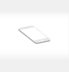 smartphone mockup vector image