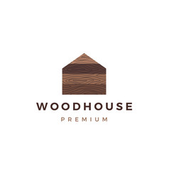 Wood house timber panel wall facade decking wpc vector