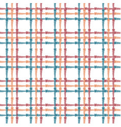 vintage seamless pattern with crossing painted vector image vector image