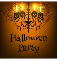 Halloween party vector