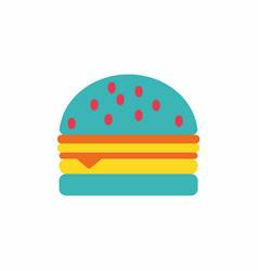 Hamburger icon burger vector