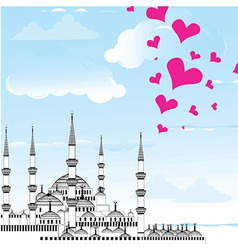 I Love Istanbul Design vector