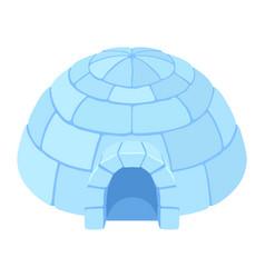Igloo ice house vector