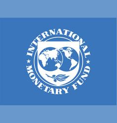 international monetary fund vector image