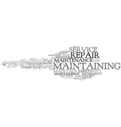 Maintaining word cloud concept vector