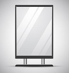 Advertisement Billboard vector image