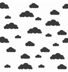 Baby seamless pattern Light fun sky print vector image vector image