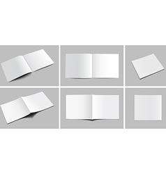 Magazine Mockups vector image