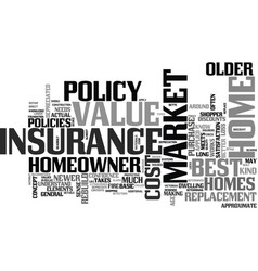 best home owner insurance what is the best text vector image