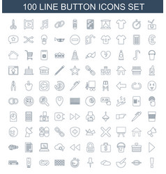 button icons vector image