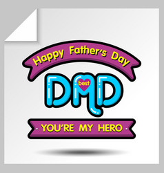 Fathers day icons 19 vector