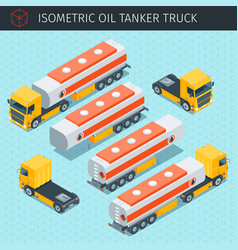 Oil tanker truck vector